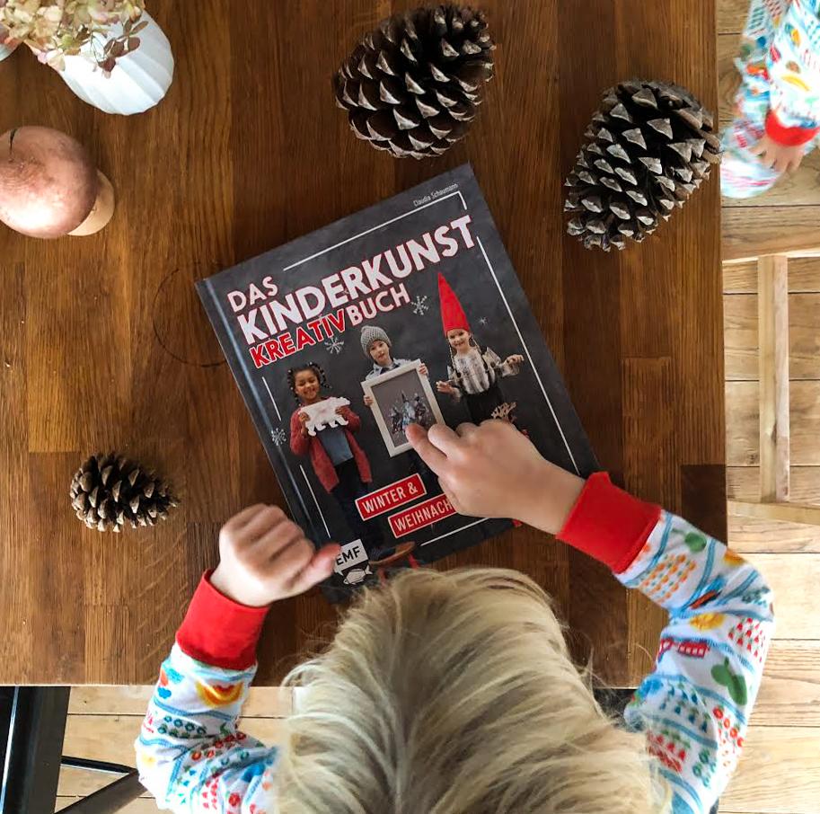 Das Kinderkunst-Kreativbuch – Winter und Weihnachten – wasfuermich-Shop