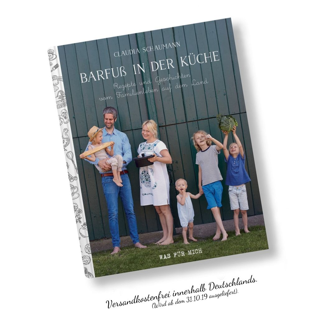 Barfuss In Der Kuche Isbn 978 3 00 063806 0 Wasfuermich Shop
